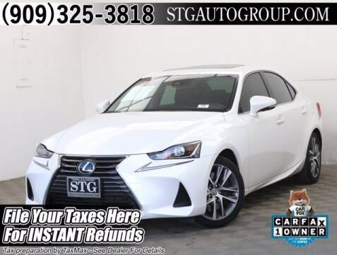 2019 Lexus IS 300 for sale at STG Auto Group in Montclair CA