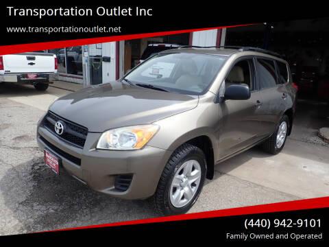 2009 Toyota RAV4 for sale at Transportation Outlet Inc in Eastlake OH