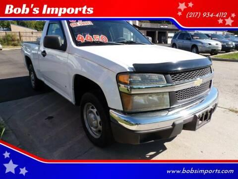 2007 Chevrolet Colorado for sale at Bob's Imports in Clinton IL