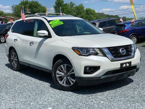 2017 Nissan Pathfinder for sale at A&M Auto Sales in Edgewood MD