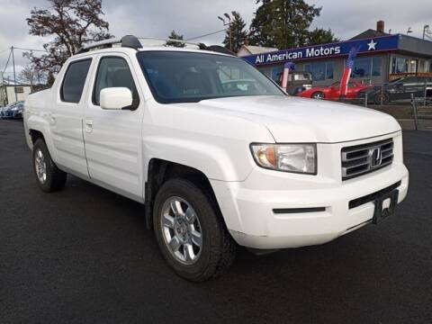 2006 Honda Ridgeline for sale at All American Motors in Tacoma WA