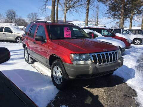 2002 Jeep Grand Cherokee for sale at Antique Motors in Plymouth IN
