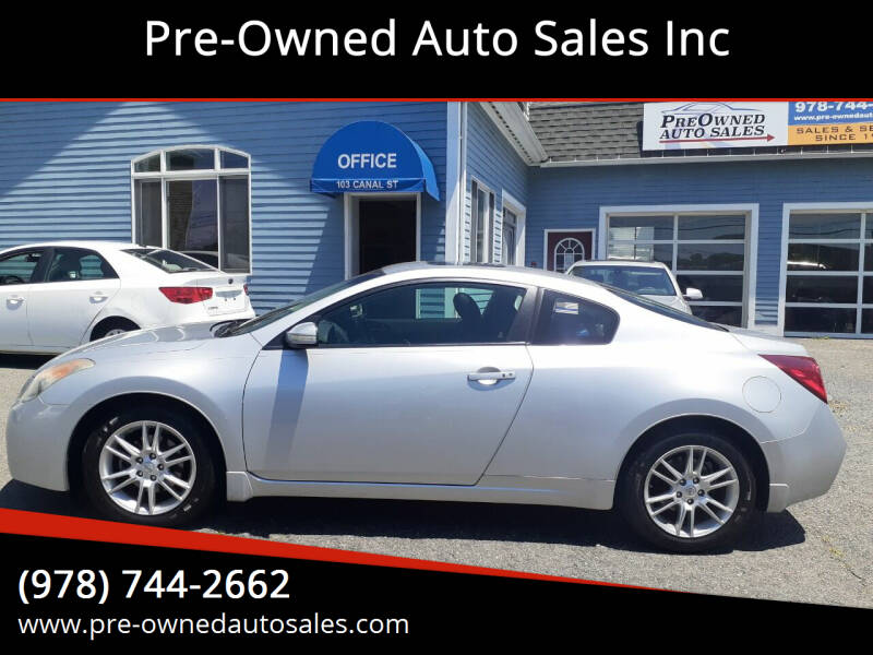 2008 Nissan Altima for sale at Pre-Owned Auto Sales Inc in Salem MA