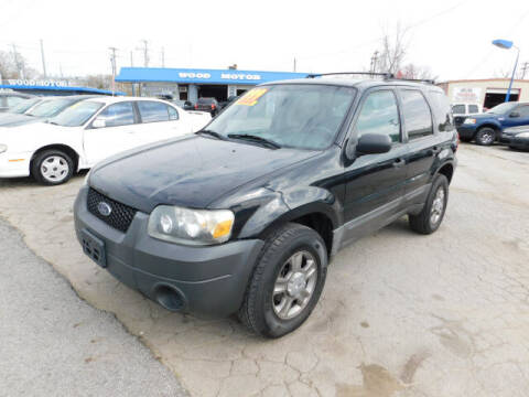 2005 Ford Escape for sale at WOOD MOTOR COMPANY in Madison TN