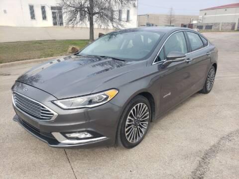 2018 Ford Fusion Hybrid for sale at Monaco Motors in Arlington TX