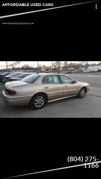 2005 Buick LeSabre for sale at AFFORDABLE USED CARS in Richmond VA
