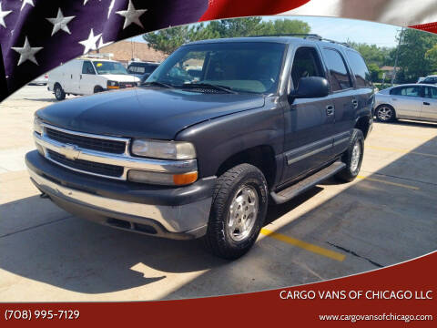 2005 Chevrolet Tahoe for sale at Cargo Vans of Chicago LLC in Mokena IL