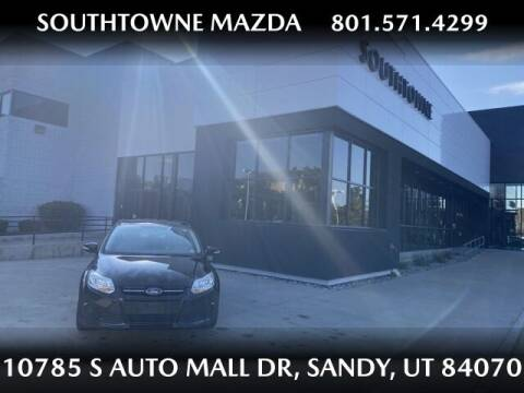 2014 Ford Focus for sale at Southtowne Mazda of Sandy in Sandy UT