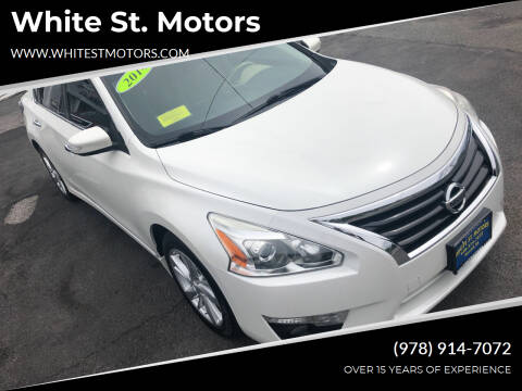2014 Nissan Altima for sale at White St. Motors in Haverhill MA