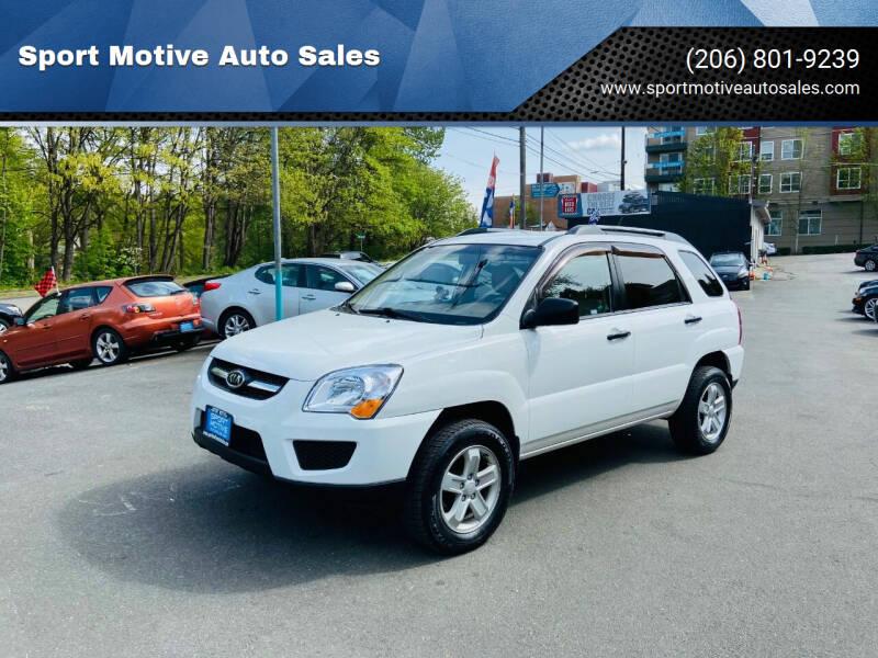 2009 Kia Sportage for sale at Sport Motive Auto Sales in Seattle WA
