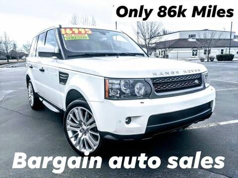 2010 Land Rover Range Rover Sport for sale at Bargain Auto Sales LLC in Garden City ID