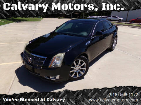 2009 Cadillac CTS for sale at Calvary Motors, Inc. in Bixby OK