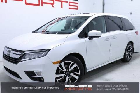 2020 Honda Odyssey for sale at Fishers Imports in Fishers IN