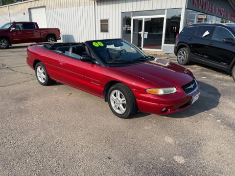 2000 Chrysler Sebring for sale at ROTMAN MOTOR CO in Maquoketa IA