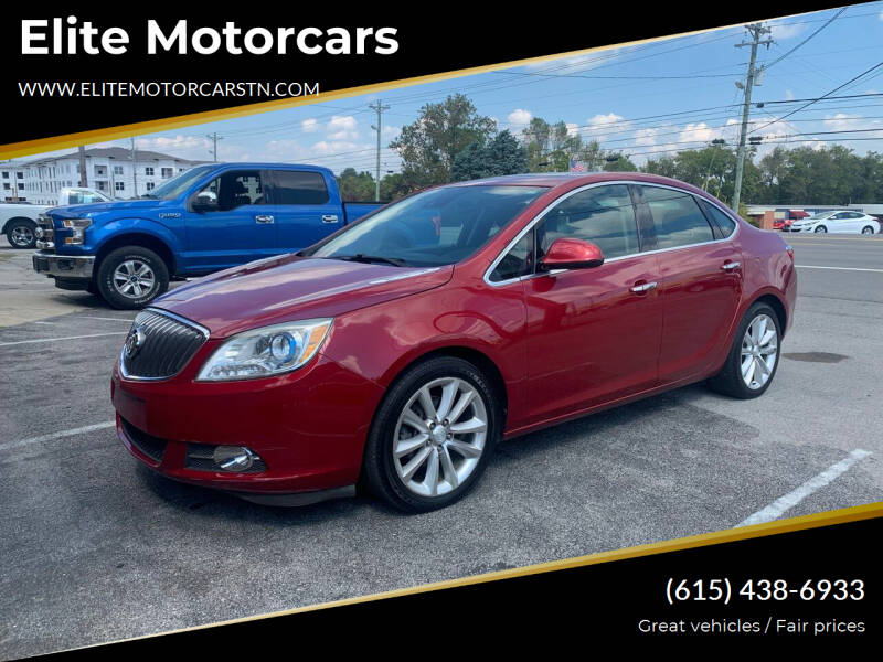 2015 Buick Verano for sale at Elite Motorcars in Smyrna TN