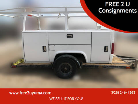 UTILITY Truck Bed  for sale at FREE 2 U Consignments in Yuma AZ