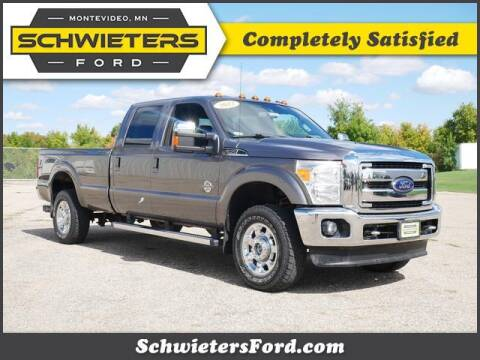 2012 Ford F-350 Super Duty for sale at Schwieters Ford of Montevideo in Montevideo MN
