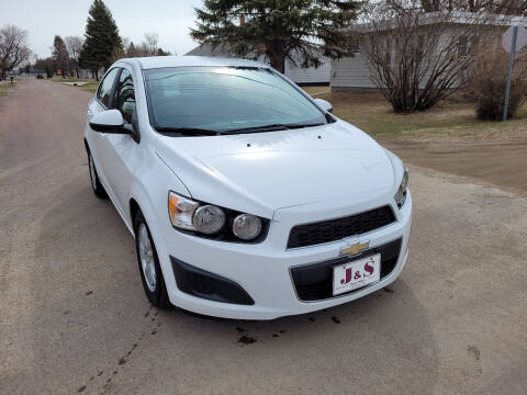 2012 Chevrolet Sonic for sale at J & S Auto Sales in Thompson ND