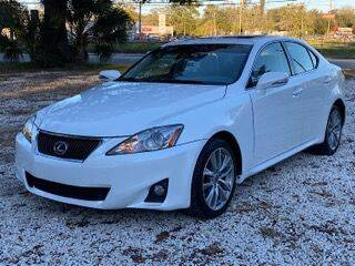 2012 Lexus IS 250 for sale at REDLINE MOTORGROUP INC in Jacksonville FL