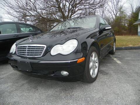2004 Mercedes-Benz C-Class for sale at Ed Davis LTD in Poughquag NY