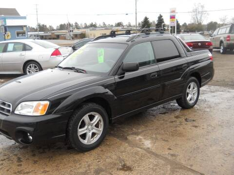 2006 Subaru Baja for sale at Shaw Motor Sales in Kalkaska MI