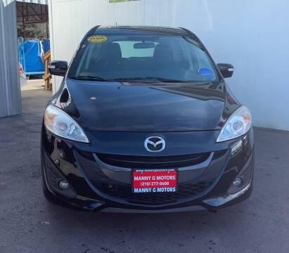 2013 Mazda MAZDA5 for sale at Manny G Motors in San Antonio TX