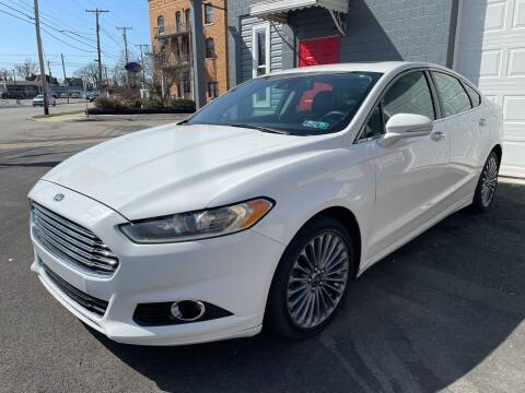 2013 Ford Fusion for sale at Trocci's Auto Sales in West Pittsburg PA