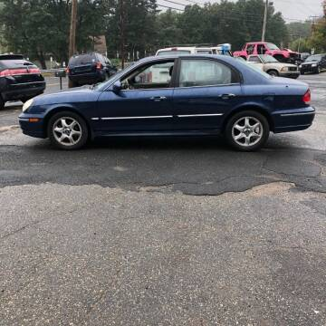 2005 Hyundai Sonata for sale at Allen's Affordable Auto in Southwick MA