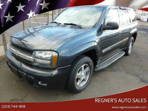 2004 Chevrolet TrailBlazer for sale at Regner's Auto Sales in Danbury CT
