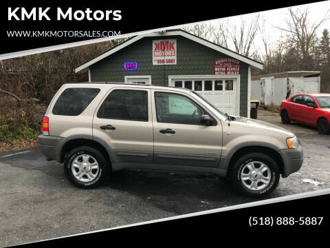 2001 Ford Escape for sale at KMK Motors in Latham NY