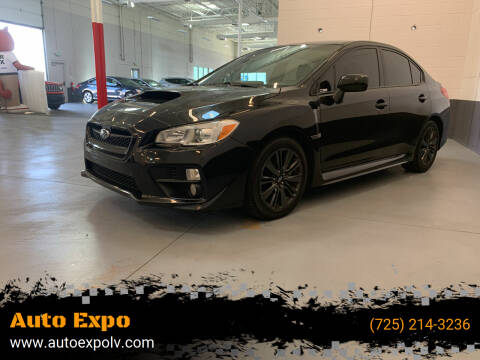 2016 Subaru WRX for sale at Auto Expo in Las Vegas NV