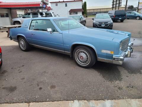 1985 Cadillac Eldorado for sale at Rum River Auto Sales in Cambridge MN