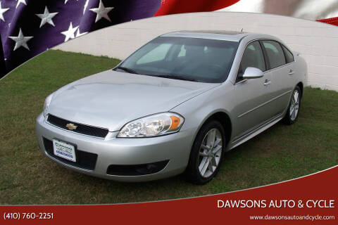 2012 Chevrolet Impala for sale at Dawsons Auto & Cycle in Glen Burnie MD
