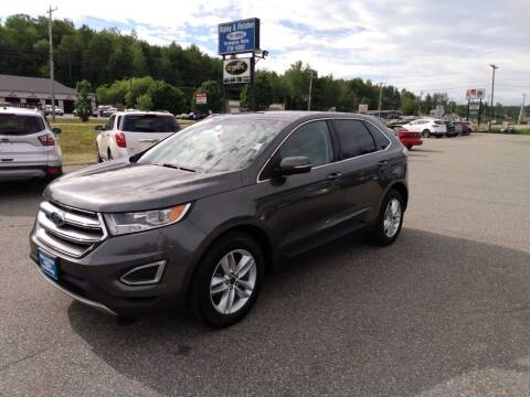 2016 Ford Edge for sale at Ripley & Fletcher Pre-Owned Sales & Service in Farmington ME