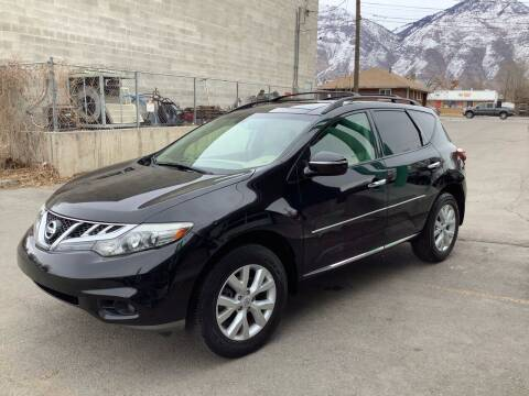 2012 Nissan Murano for sale at Select AWD in Provo UT