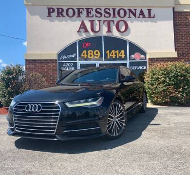 2016 Audi A6 for sale at Professional Auto Sales & Service in Fort Wayne IN