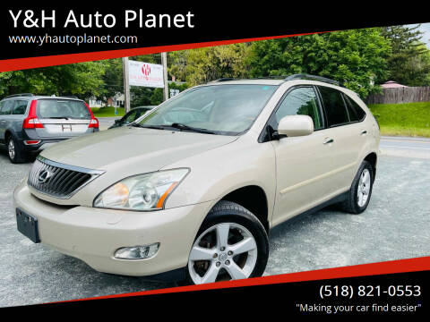 2008 Lexus RX 350 for sale at Y&H Auto Planet in West Sand Lake NY