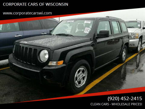 2010 Jeep Patriot for sale at CORPORATE CARS OF WISCONSIN - DAVES AUTO SALES OF SHEBOYGAN in Sheboygan WI
