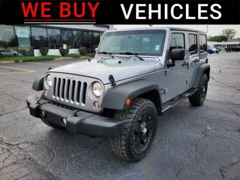 2016 Jeep Wrangler Unlimited for sale at Vicksburg Chrysler Dodge Jeep Ram in Vicksburg MI