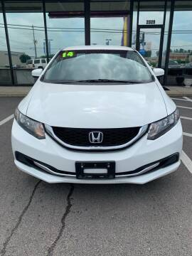 2014 Honda Civic for sale at East Carolina Auto Exchange in Greenville NC