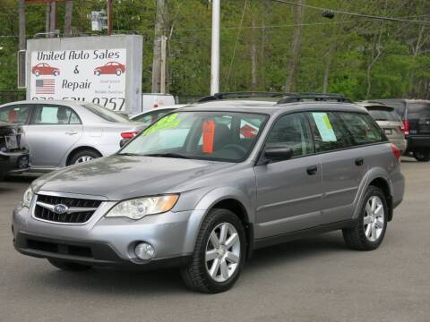 2008 Subaru Outback for sale at United Auto Service in Leominster MA