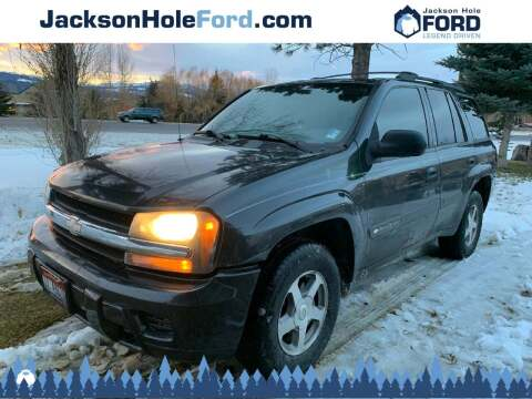 2004 Chevrolet TrailBlazer for sale at Jackson Hole Ford of Alpine in Alpine WY