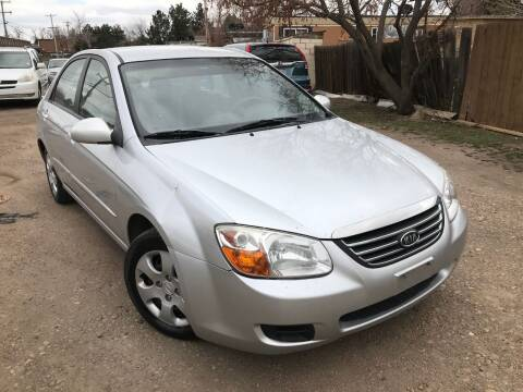 2008 Kia Spectra for sale at 3-B Auto Sales in Aurora CO