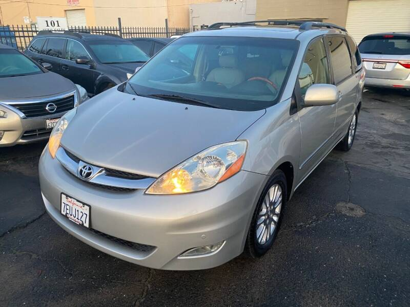2007 Toyota Sienna for sale at 101 Auto Sales in Sacramento CA