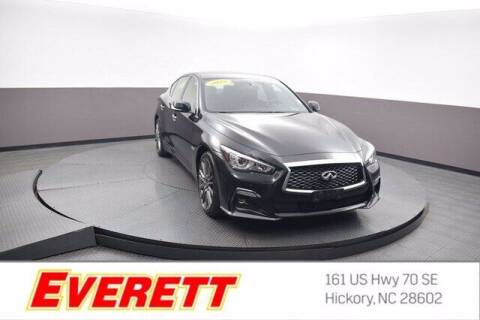 2018 Infiniti Q50 for sale at Everett Chevrolet Buick GMC in Hickory NC