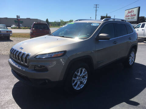 2016 Jeep Cherokee for sale at JACK'S AUTO SALES in Traverse City MI