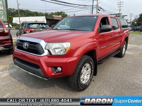 2015 Toyota Tacoma for sale at Baron Super Center in Patchogue NY