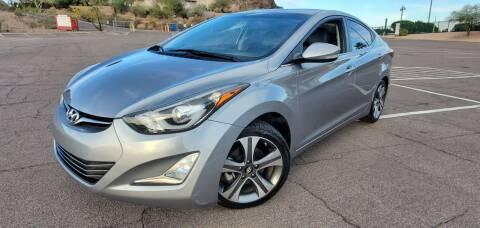 2014 Hyundai Elantra for sale at Arizona Auto Resource in Tempe AZ