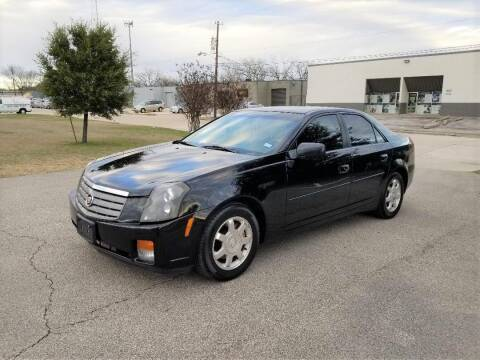 2004 Cadillac CTS for sale at Image Auto Sales in Dallas TX