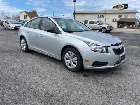 2013 Chevrolet Cruze for sale at Riverside Auto Sales & Service in Portland ME